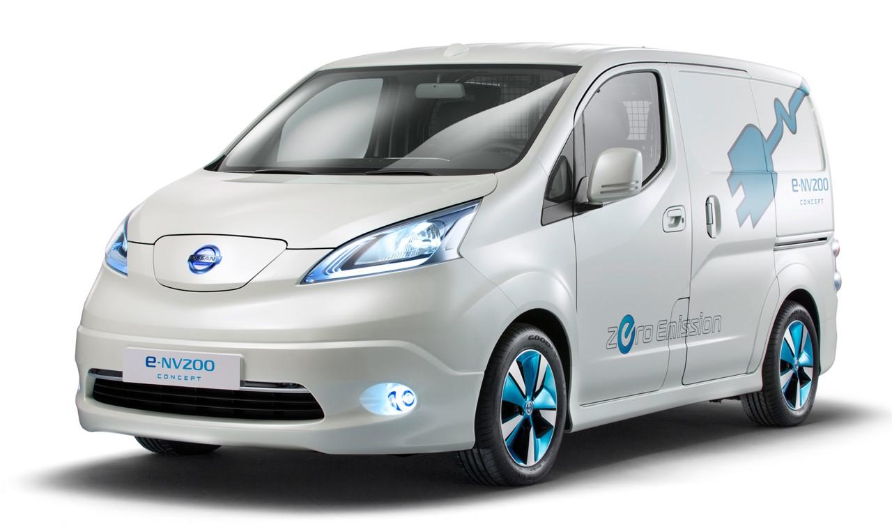 Anche Nissan inserirà nel suo parco veicoli elettrici un furgone