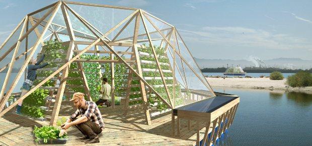 <a href=http://www.rinnovabili.it/innovazione/jellyfish-barge-serra-agricola-galleggiante-riciclo-666/ class=