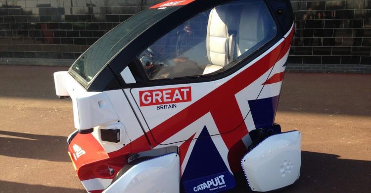 L'auto senza conducente arriverà dalla Gran Bretagna