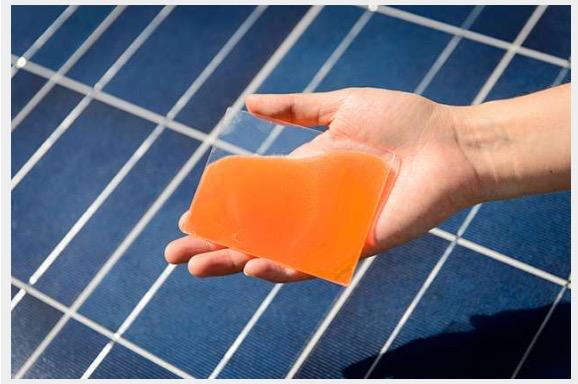 Antenne di gelatina per raddoppiare l'efficienza del fotovoltaico