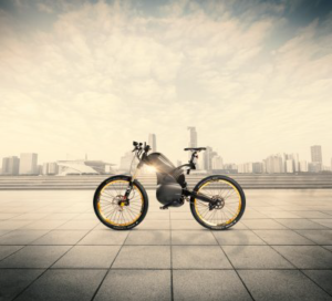 Ciclo/motociclo ibrido con cuscinetti NSK